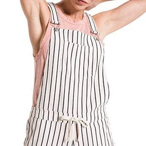 Z Supply Pin Stripe Shortalls